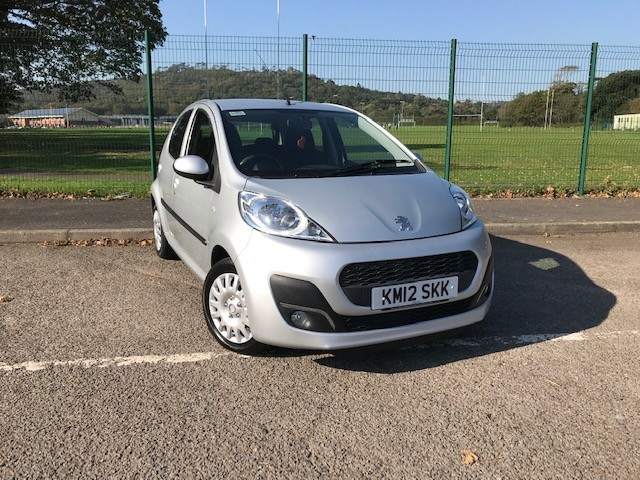 used Peugeot 107 ACTIVE in llanelli-south-wales