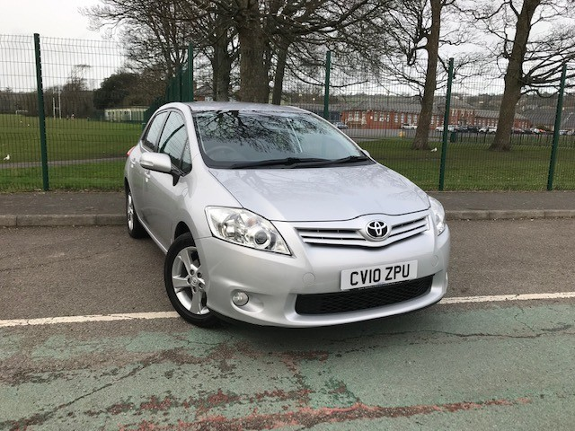 used Toyota Auris VALVEMATIC TR in llanelli-south-wales