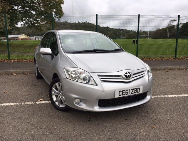 used Toyota Auris TR VVT-I in llanelli-south-wales