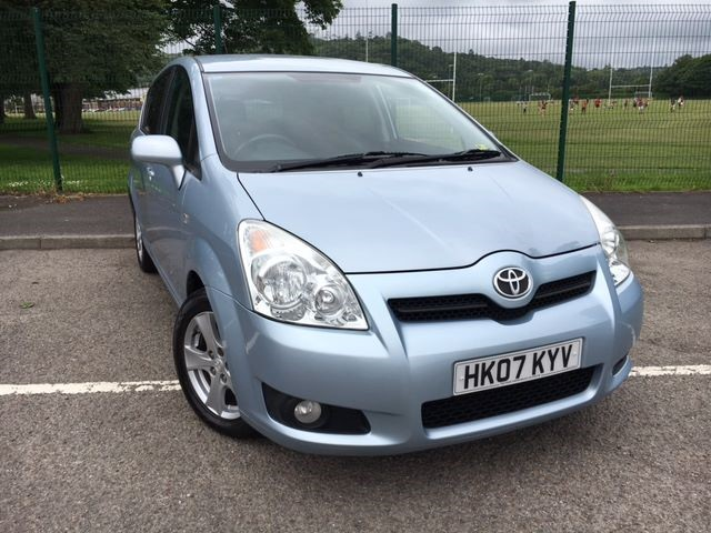 used Toyota Corolla Verso T3 D-4D in llanelli-south-wales