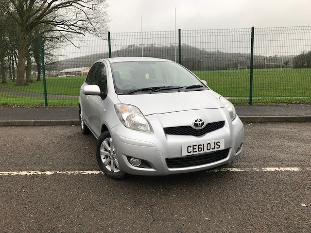 used Toyota Yaris D-4D T SPIRIT in llanelli-south-wales