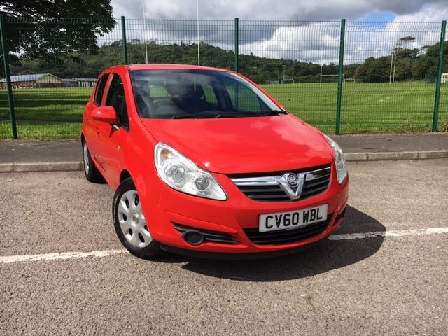 used Vauxhall Corsa EXCLUSIV A/C in llanelli-south-wales