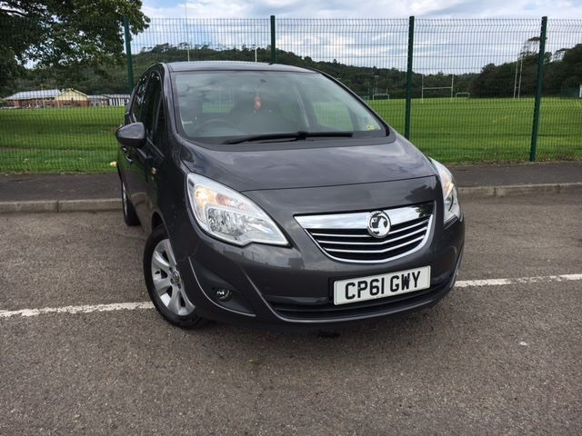 used Vauxhall Meriva SE CDTI in llanelli-south-wales