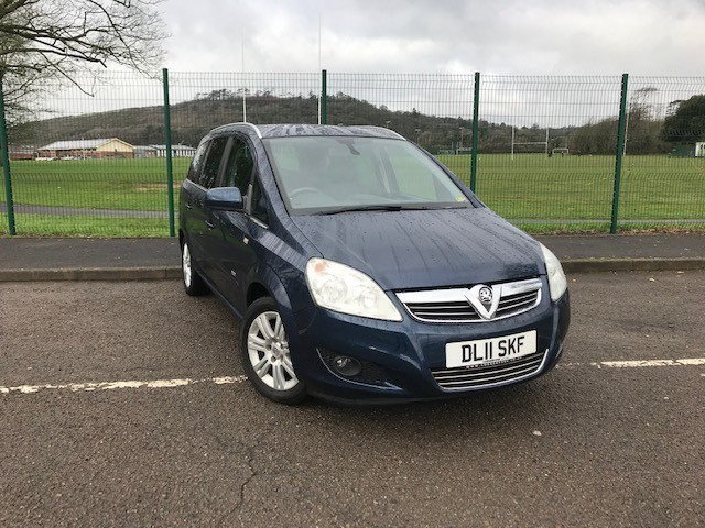 used Vauxhall Zafira DESIGN in llanelli-south-wales