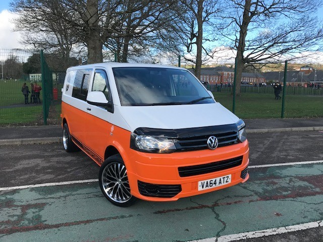 used VW Transporter T32 TDI P/V STARTLINE BMT in llanelli-south-wales