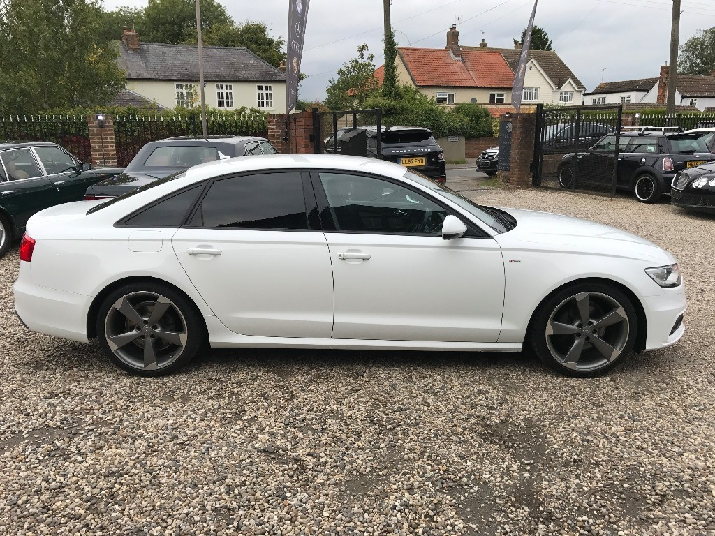Used IBIS WHITE GLOSS Audi A6 for Sale | Essex