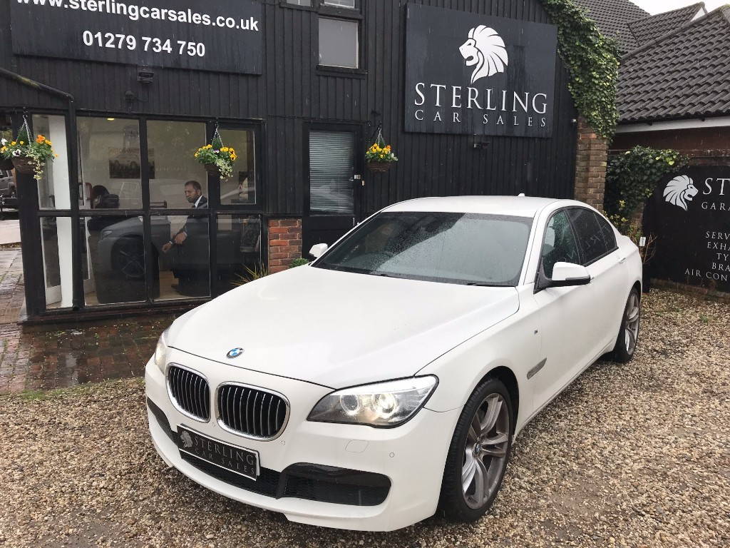 used BMW 730d 730D M SPORT in essex
