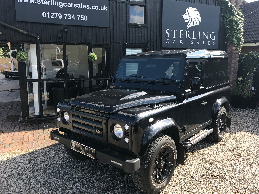 used Land Rover Defender 90 COUNTY HARD TOP in essex