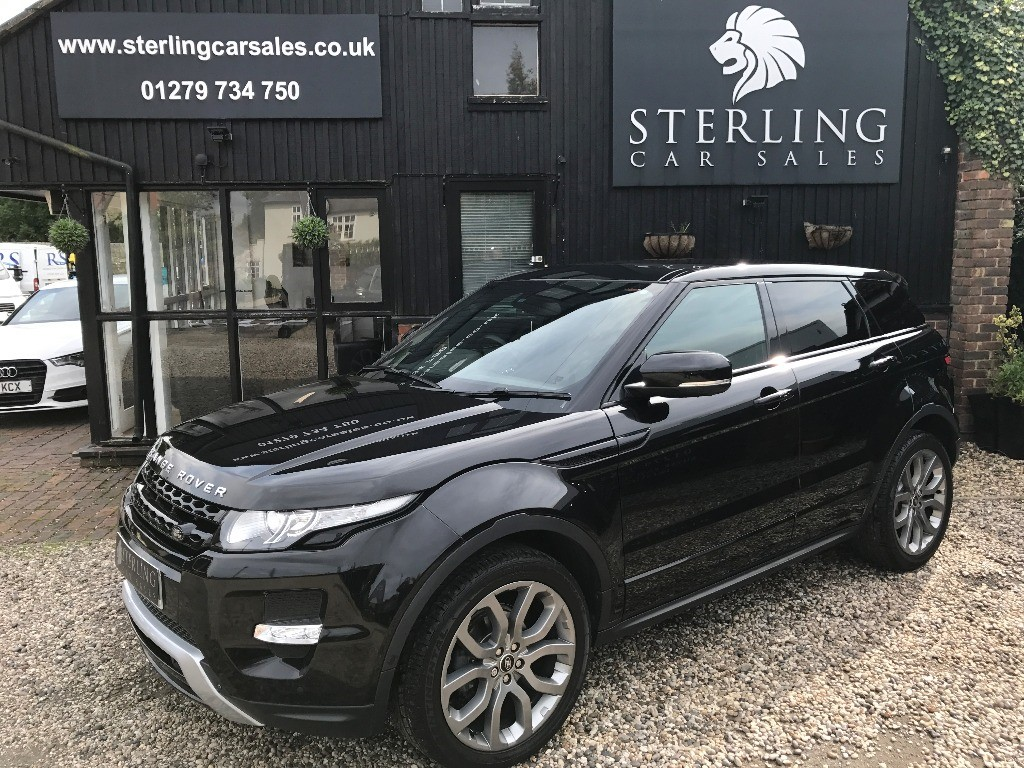 used Land Rover Range Rover Evoque SD4 DYNAMIC LUX in essex