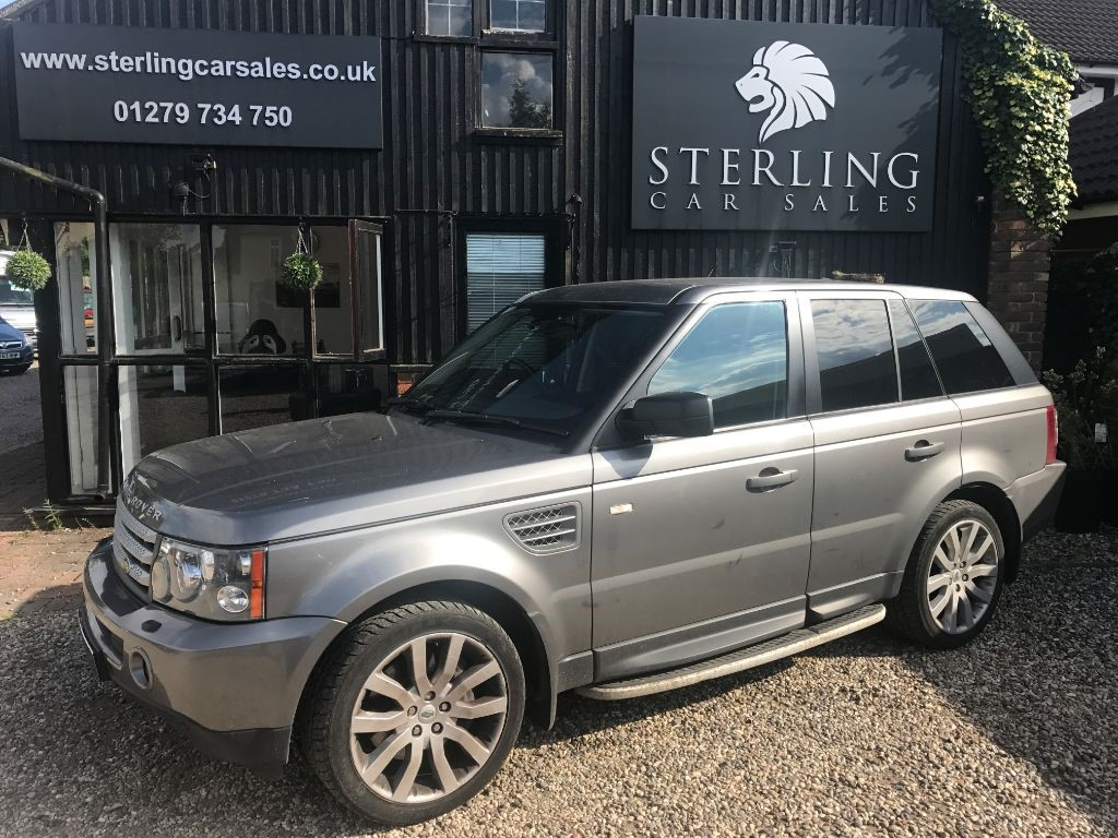 used Land Rover Range Rover Sport TDV8 SPORT HSE in essex
