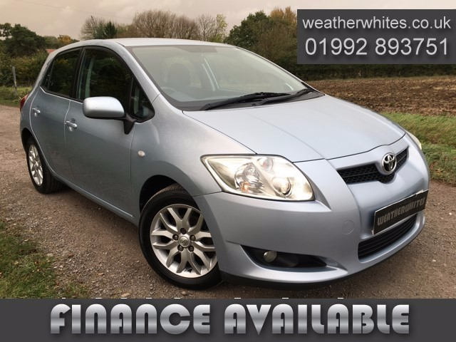 used Toyota Auris T3 VVT-I in essex