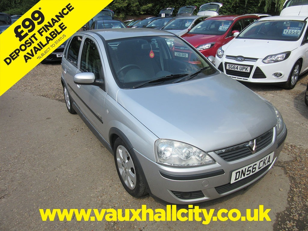 Used Star Silver Vauxhall Corsa For Sale Surrey