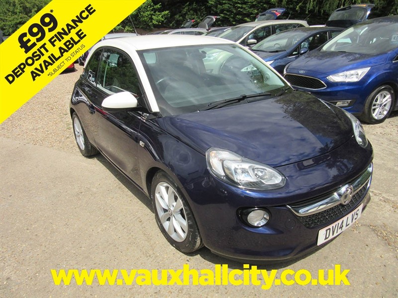 used Vauxhall Adam JAM in windlesham-surrey