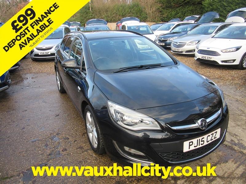 used Vauxhall Astra SRI in windlesham-surrey