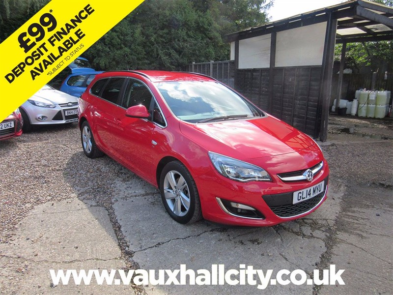 used Vauxhall Astra SRI CDTI S/S in windlesham-surrey