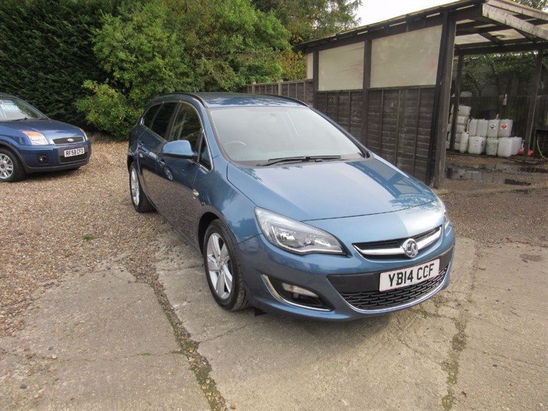used Vauxhall Astra SRI CDTI ECOFLEX S/S in windlesham-surrey