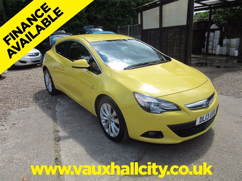 Vauxhall Astra GTC for sale