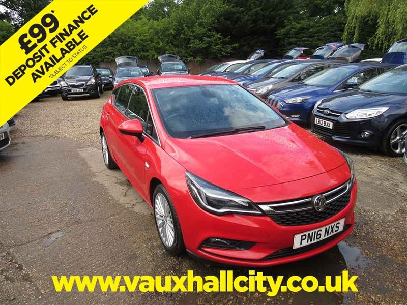 used Vauxhall Astra ELITE S/S in windlesham-surrey