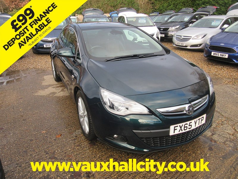 used Vauxhall Astra GTC SRI CDTI in windlesham-surrey