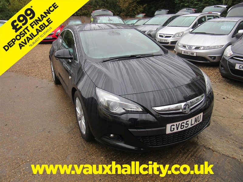 used Vauxhall Astra GTC SRI in windlesham-surrey