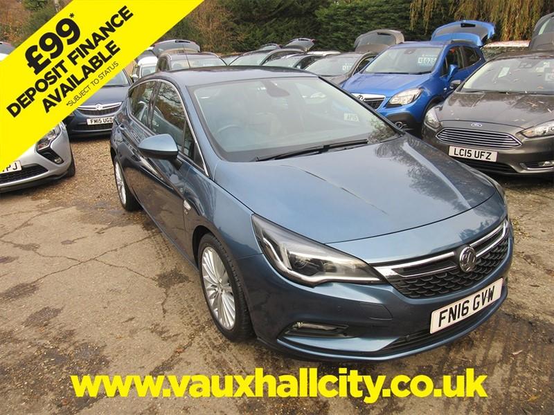used Vauxhall Astra ELITE CDTI S/S in windlesham-surrey