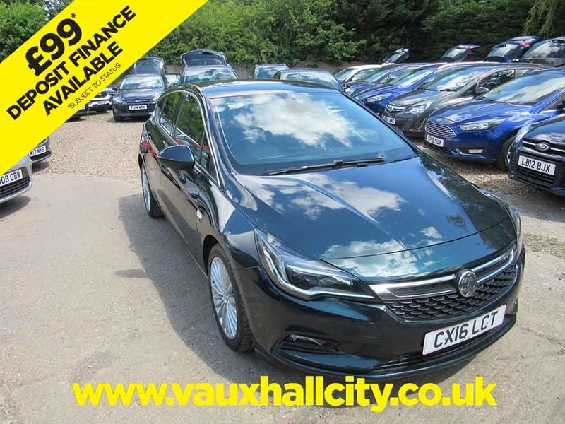 used Vauxhall Astra ELITE NAV CDTI S/S in windlesham-surrey