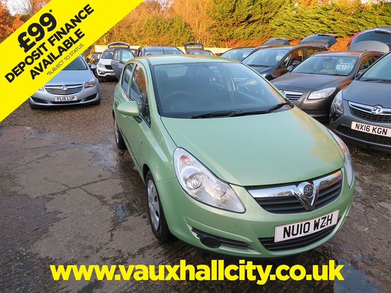 used Vauxhall Corsa EXCLUSIV AC in windlesham-surrey