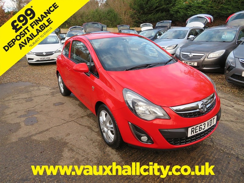 used Vauxhall Corsa ENERGY AC in windlesham-surrey
