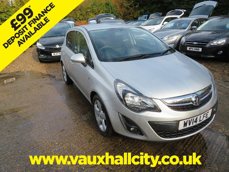 used Vauxhall Corsa SXI AC in windlesham-surrey