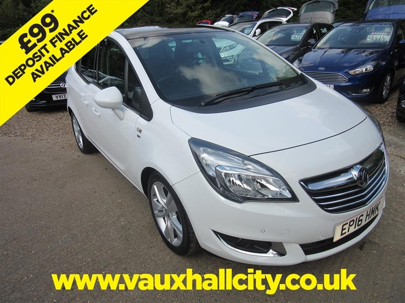 used Vauxhall Meriva SE in windlesham-surrey