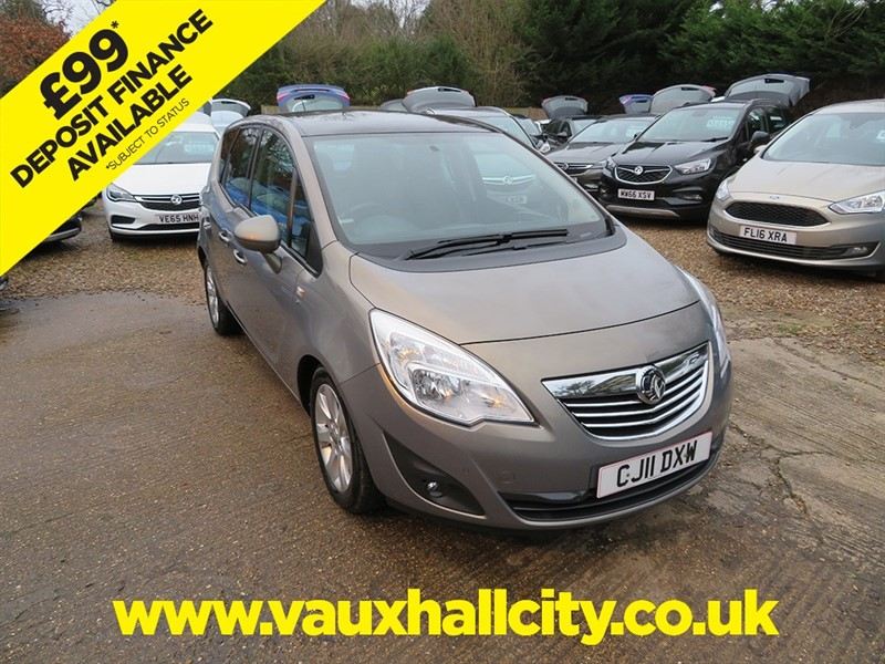 used Vauxhall Meriva SE CDTI in windlesham-surrey