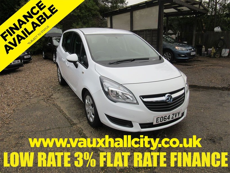used Vauxhall Meriva EXCLUSIV AC in windlesham-surrey
