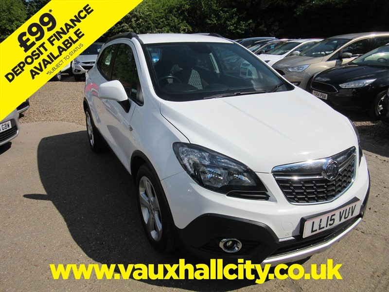 used Vauxhall Mokka EXCLUSIV S/S in windlesham-surrey