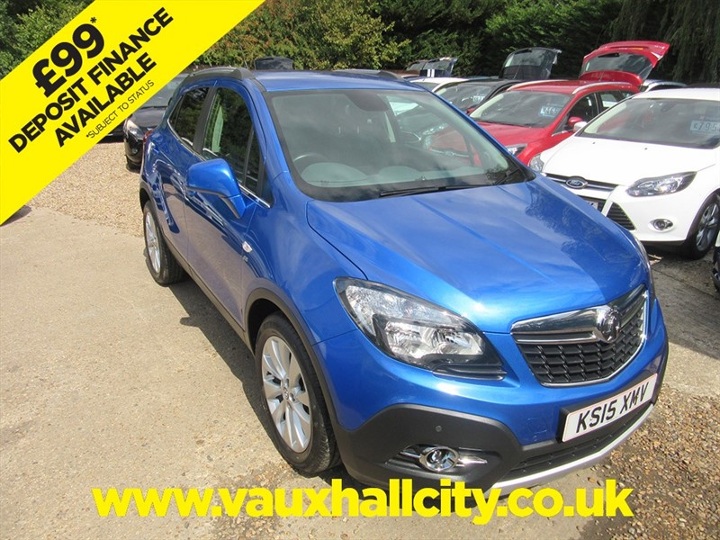 used Vauxhall Mokka SE S/S in windlesham-surrey