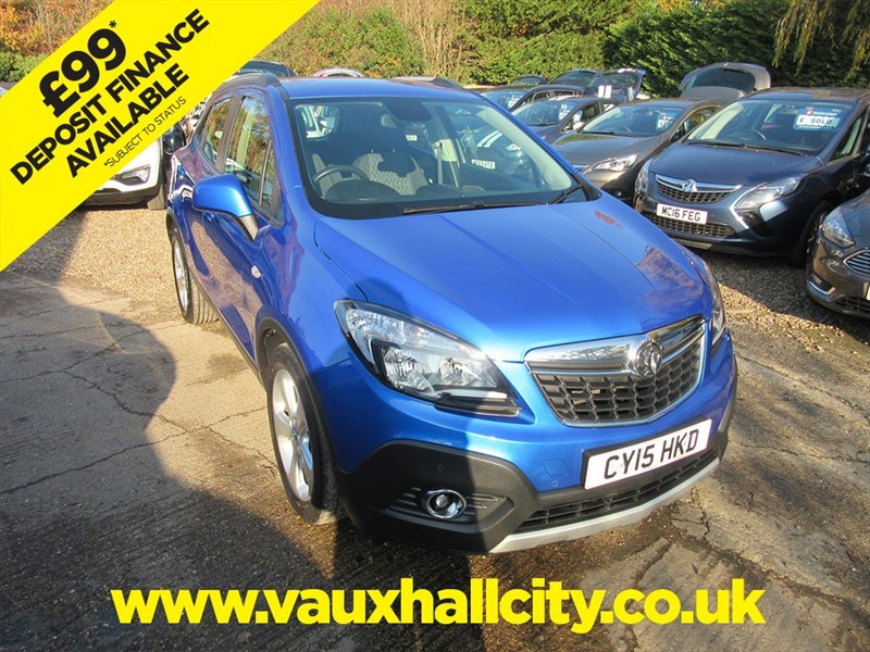 used Vauxhall Mokka EXCLUSIV in windlesham-surrey