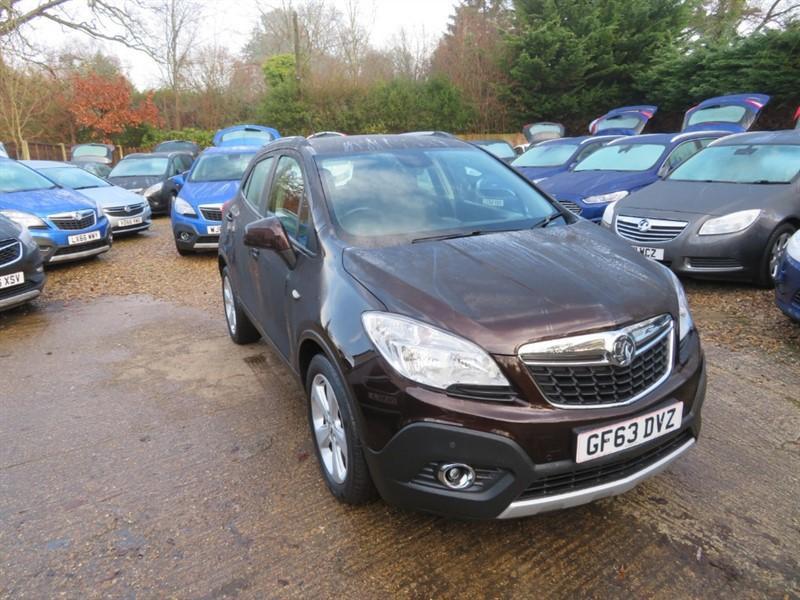used Vauxhall Mokka EXCLUSIV CDTI S/S in windlesham-surrey