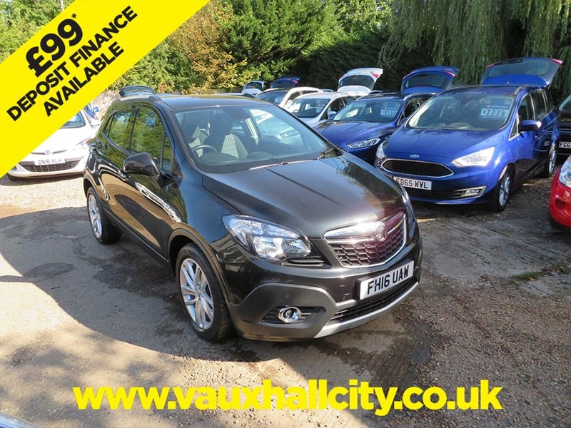 used Vauxhall Mokka EXCLUSIV CDTI in windlesham-surrey