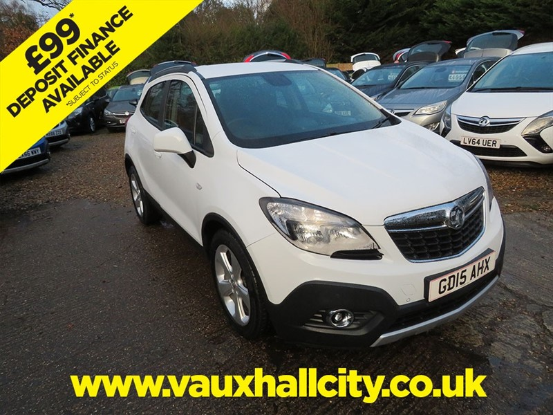 used Vauxhall Mokka TECH LINE S/S in windlesham-surrey