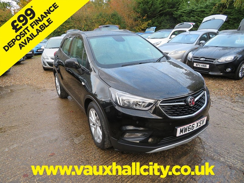 used Vauxhall Mokka X ACTIVE S/S in windlesham-surrey