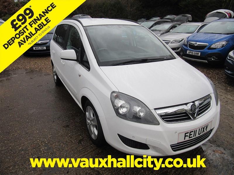 used Vauxhall Zafira EXCLUSIV CDTI ECOFLEX in windlesham-surrey