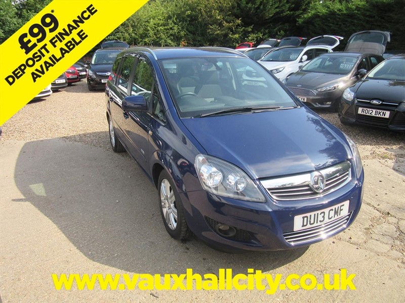 used Vauxhall Zafira DESIGN in windlesham-surrey