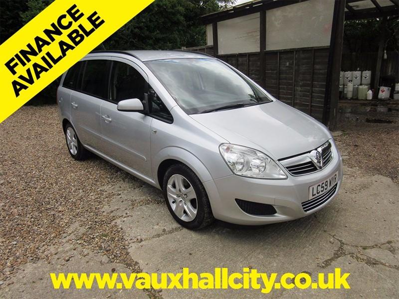 used Vauxhall Zafira EXCLUSIV CDTI in windlesham-surrey