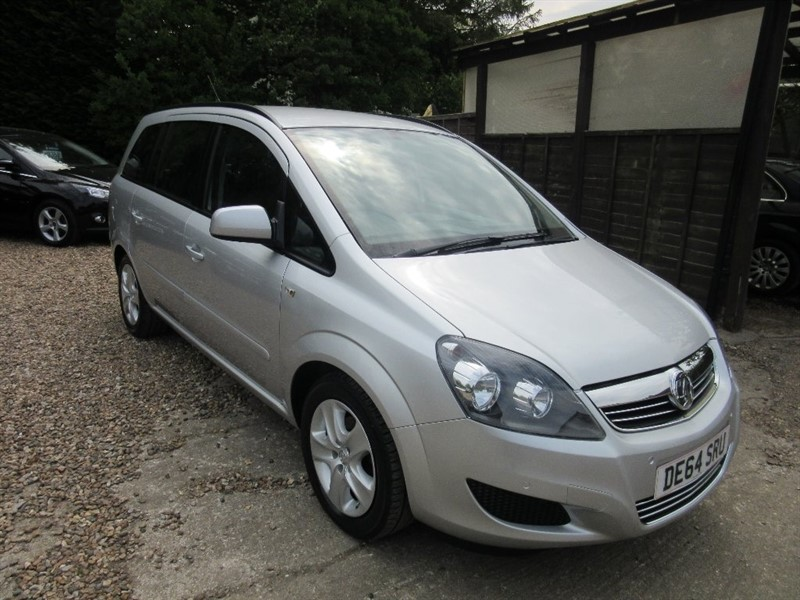used Vauxhall Zafira i VVT 16v Exclusiv 5dr in windlesham-surrey