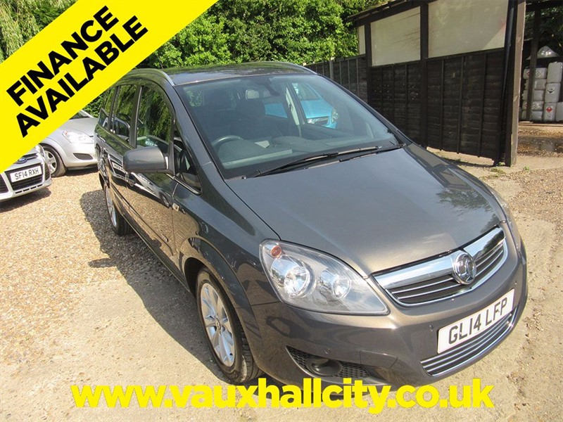 Vauxhall Zafira for sale