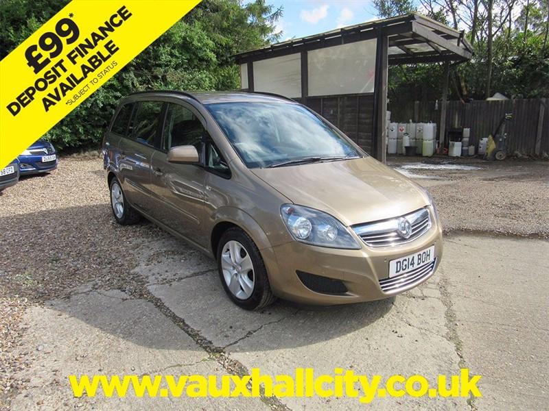 used Vauxhall Zafira EXCLUSIV in windlesham-surrey