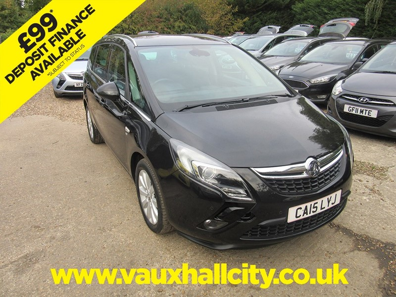 used Vauxhall Zafira Tourer SE CDTI in windlesham-surrey