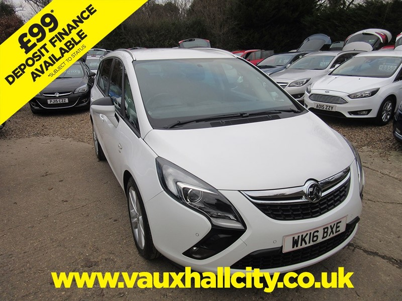 used Vauxhall Zafira Tourer SRI CDTI ECOFLEX S/S in windlesham-surrey