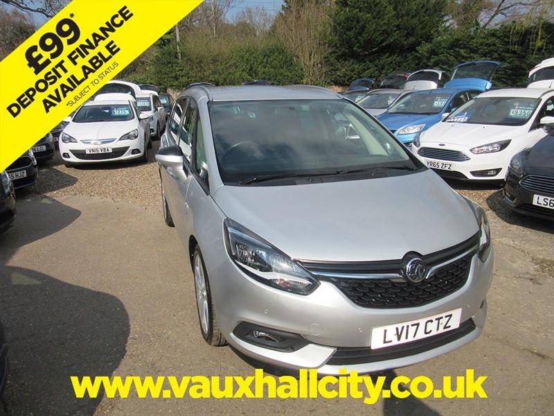 used Vauxhall Zafira Tourer SRI NAV in windlesham-surrey