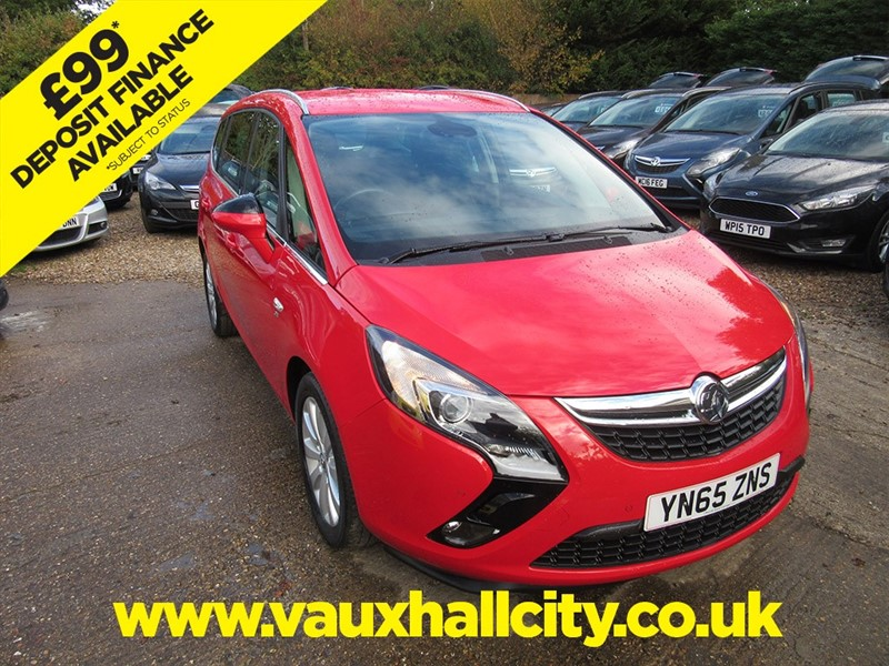 used Vauxhall Zafira Tourer SE in windlesham-surrey