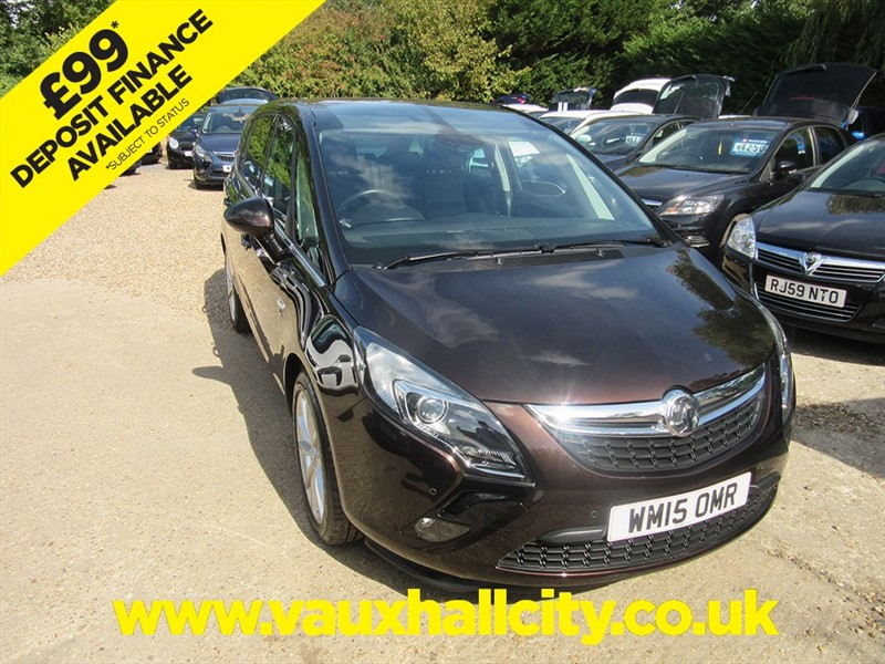 used Vauxhall Zafira Tourer ELITE CDTI in windlesham-surrey
